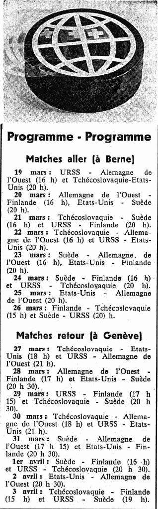 17.03.1971-расписание матчей ЧМ 1971 в группе А..png
