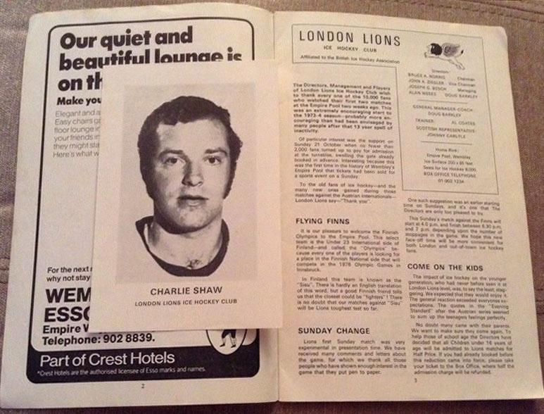 1973-74. London Lions против европейских команд -3+.jpg