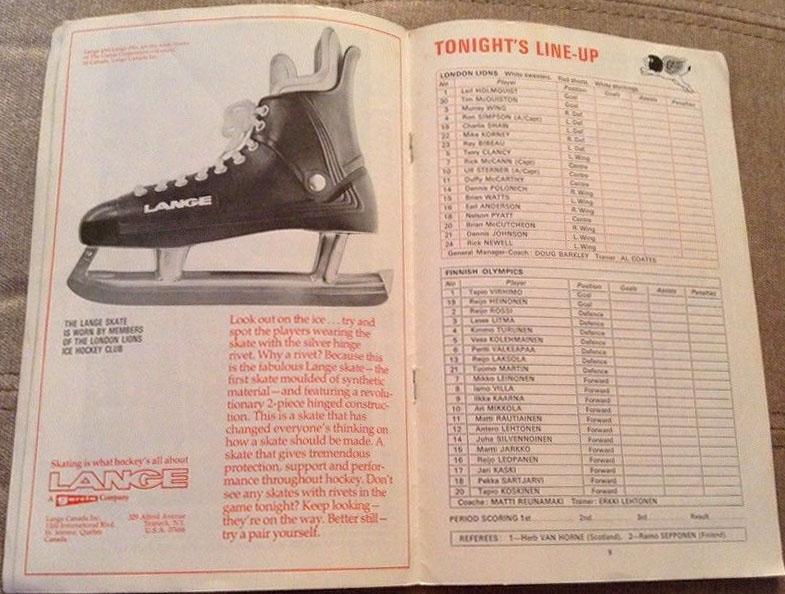1973-74. London Lions против европейских команд -2+.jpg