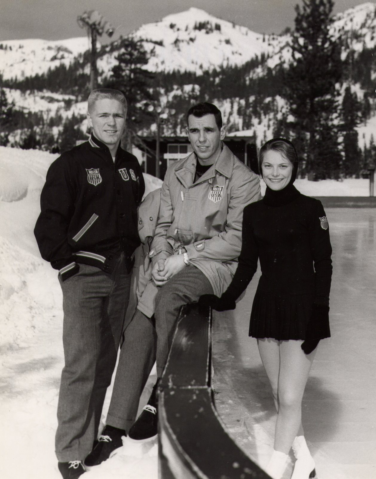 ОИ 1960 Родни Паавола слева.jpg
