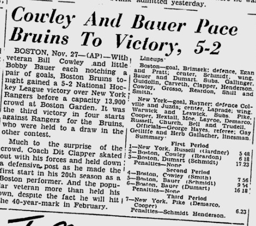 1946-11-28 - Ottawa Citizen (Rangers-Bruins 5-2).jpg
