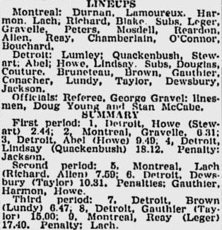 1946-11-12 - Saskatoon Star Phoenix (Detroit-Montreal 6-3).jpg