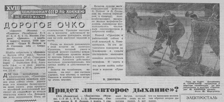 сезон 1963-1964 Динамо - Трактор-2.jpg