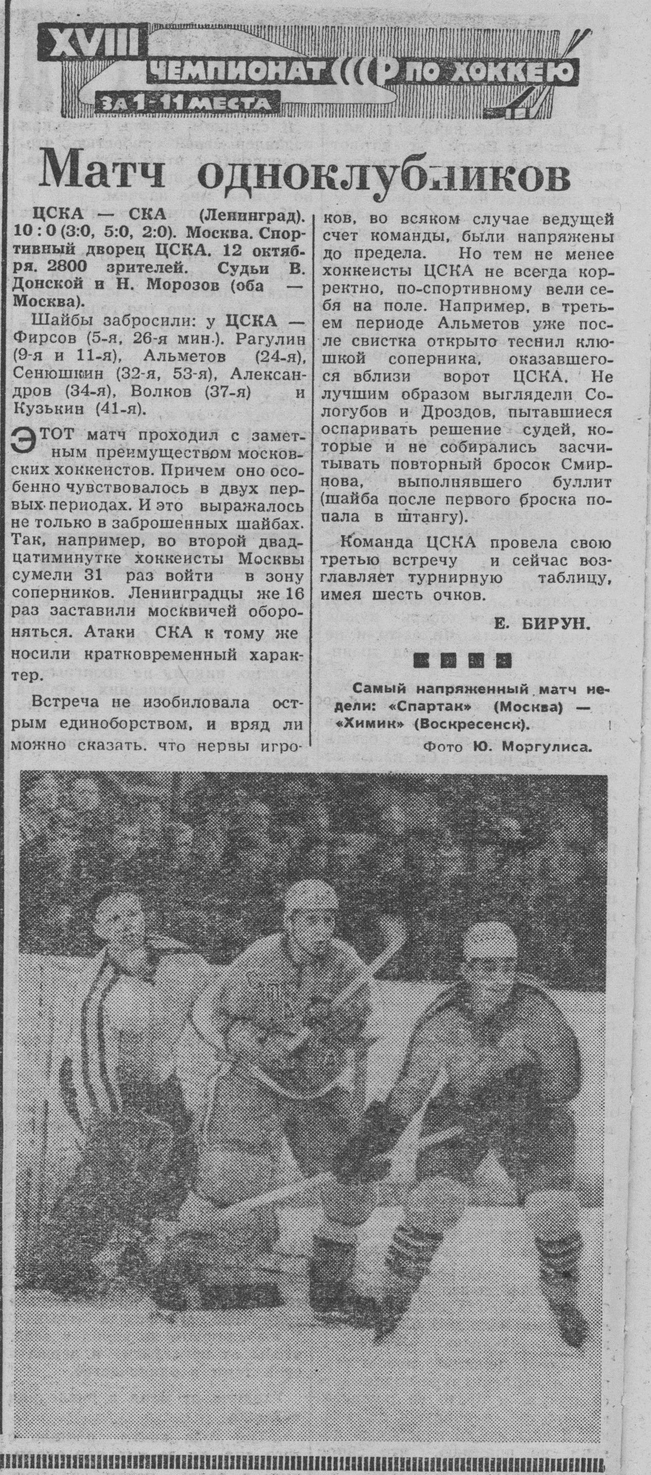 сезон 1963-1964 Спартак - Химик-2.jpg