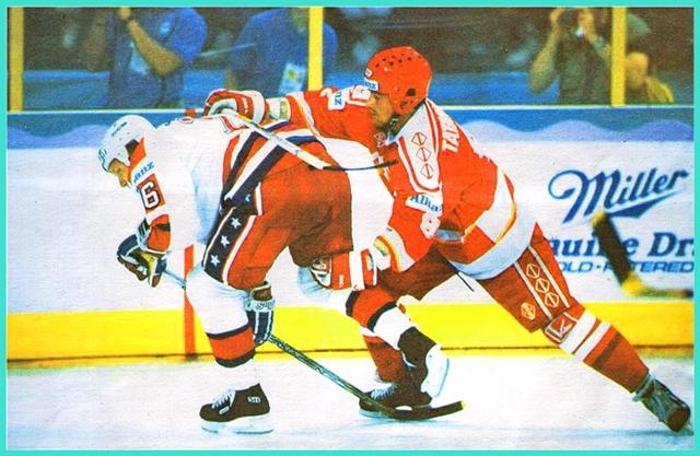 5 августа 1990 года, Игры Доброй Воли, матч СССР - США, в борьбе Михаил Татаринов борьбе с капитаном американцев Джимом Джонсоном.jpg