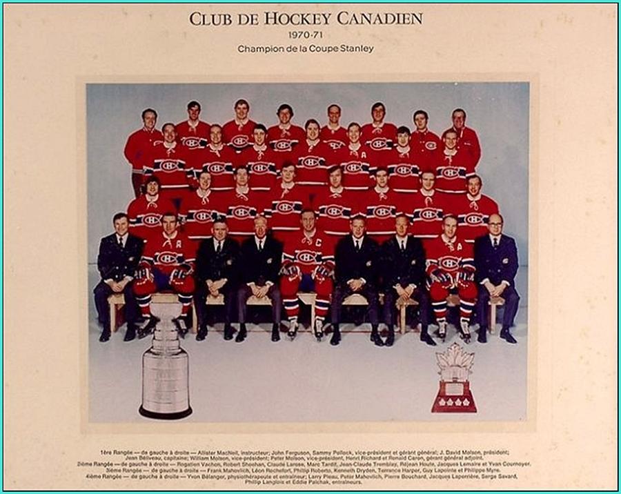 1971г.  Обладатели Кубка Стэнли 1971 года –   Монреаль Канадиенс..jpg