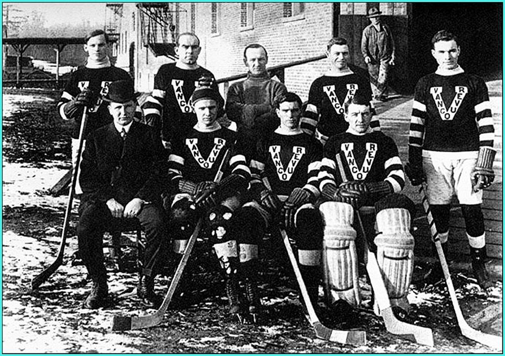 1915г.   Обладатели Кубка Стэнли 1915 года -   Ванкувер Миллионерс..jpg