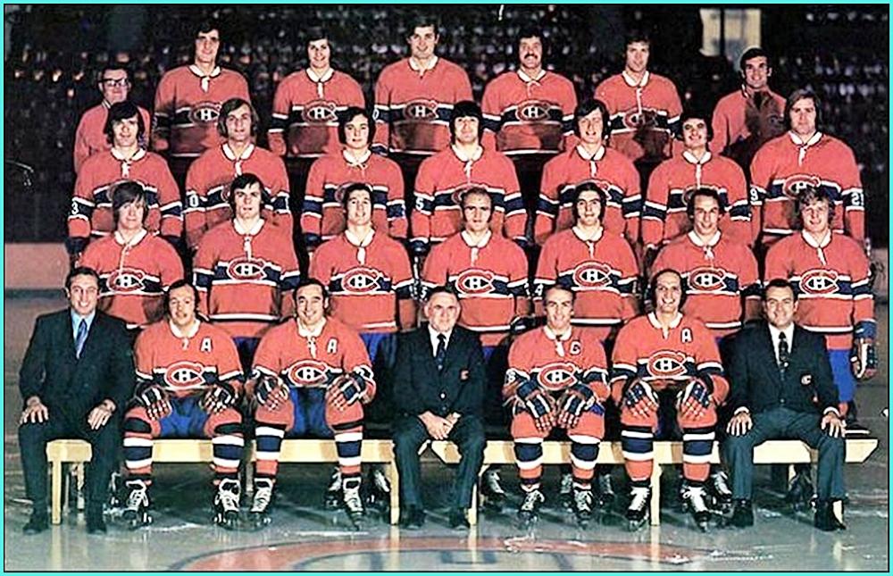 1973г.   Обладатели Кубка Стэнли 1973 года –   Монреаль Канадиенс..jpg