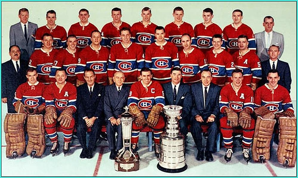 1960г.   Обладатели Кубка Стэнли 1960 года —   Монреаль Канадиенс..jpg