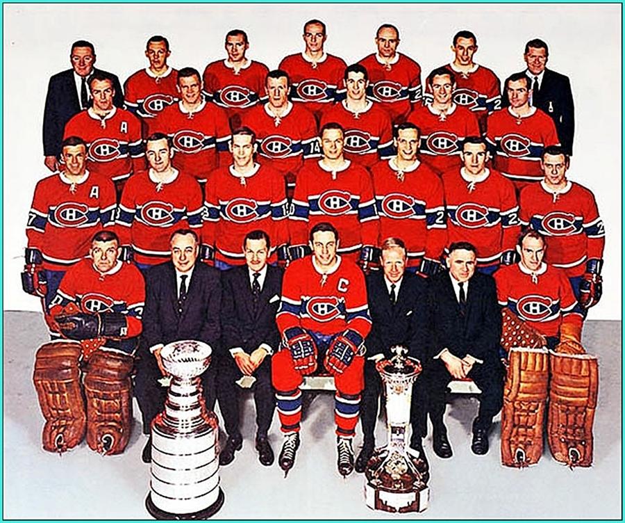 1966г.   Обладатели Кубка Стэнли 1966 года —   Монреаль Канадиенс..jpg
