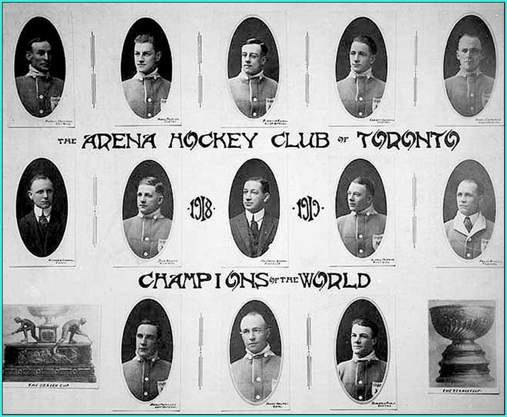 1918г.   Обладатели Кубка Стэнли 1918 года -   Торонто Аренас.jpg