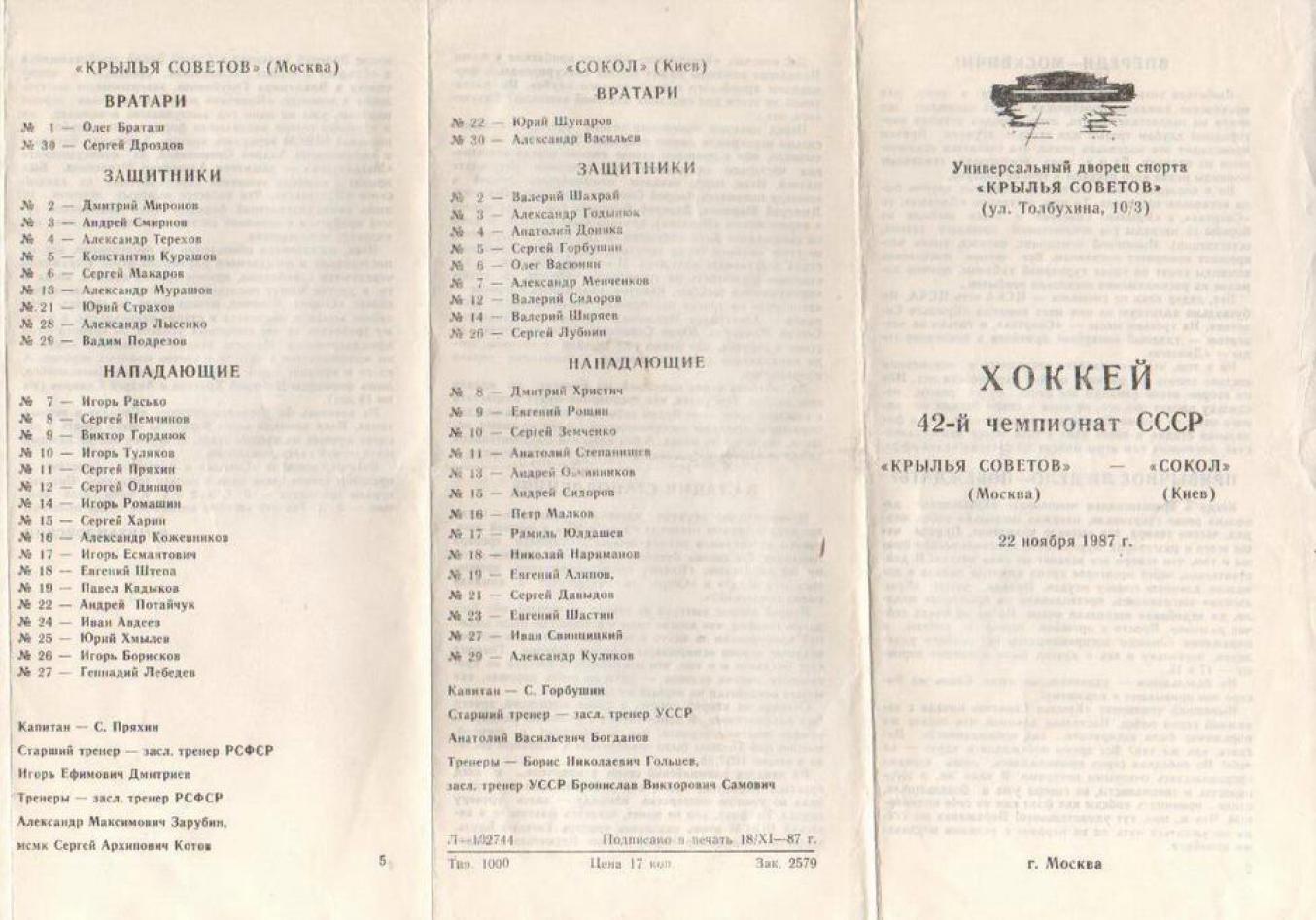 1987.11.22. Крылья Советов - Сокол, Киев (Чм. СССР)_01.png