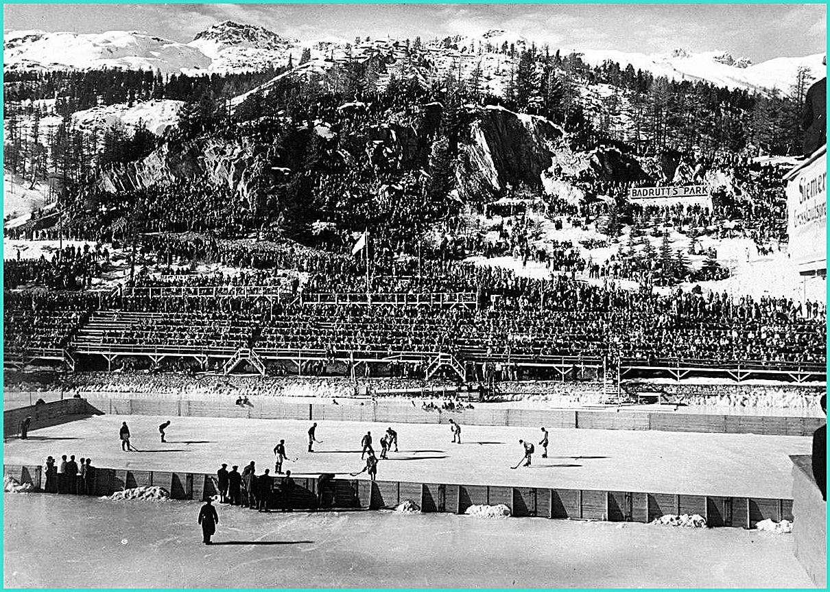 11-19.02.1928г.  2 - ОИ. в  Санкт - Морице.  Играют  Канада - Швейцария   13-0.jpg
