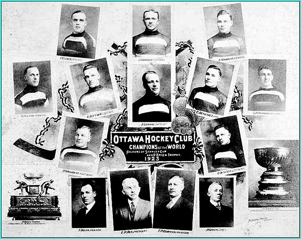 1923г.  Обладатели Кубка Стэнли 1923 года -   Оттава Сенаторз..jpg