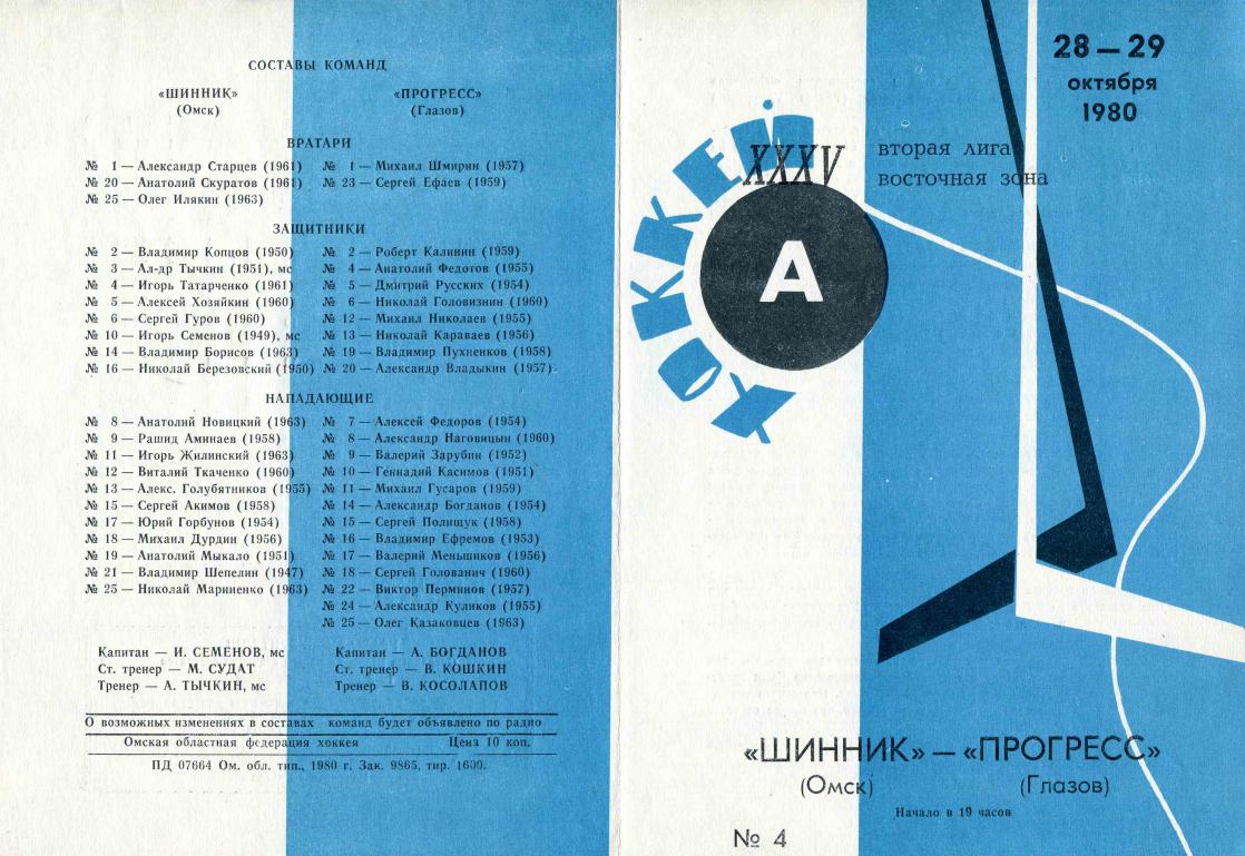 1980.10.28-29. Шинник, Омск - Прогресс, Глазов (Чм. СССР, 2 лига)_01.png