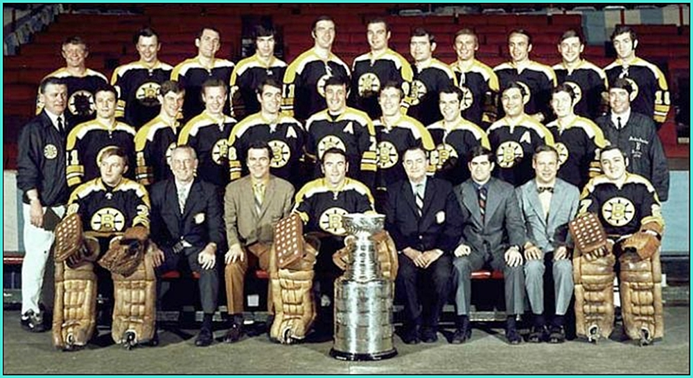 1970г.   Обладатели Кубка Стэнли 1970 года –   Бостон Брюинз..jpg