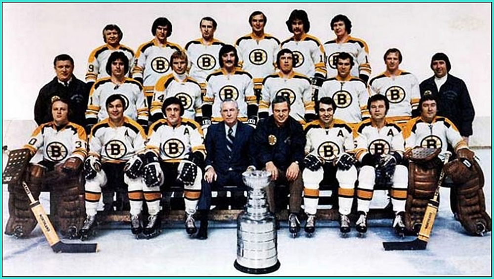 1972г.   Обладатели Кубка Стэнли 1972 года –   Бостон Брюинз..jpg
