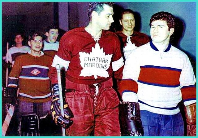 30 ноября 1960 года, товарищеский матч Спартак (Москва) -  Чатэм Марунс  (Канада)..jpg