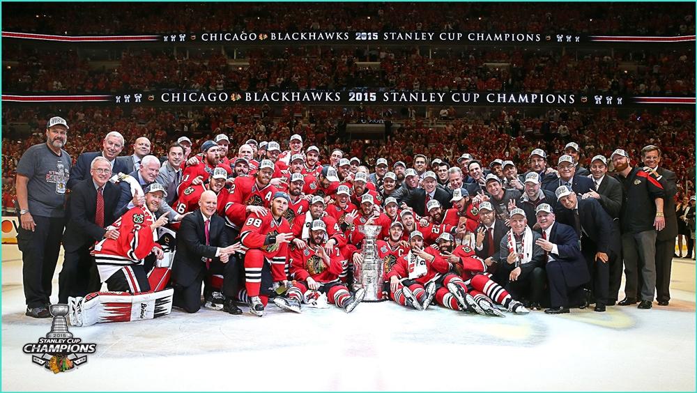 2015г.  Chicago Blackhawks 2015 Stanley Cup.jpg