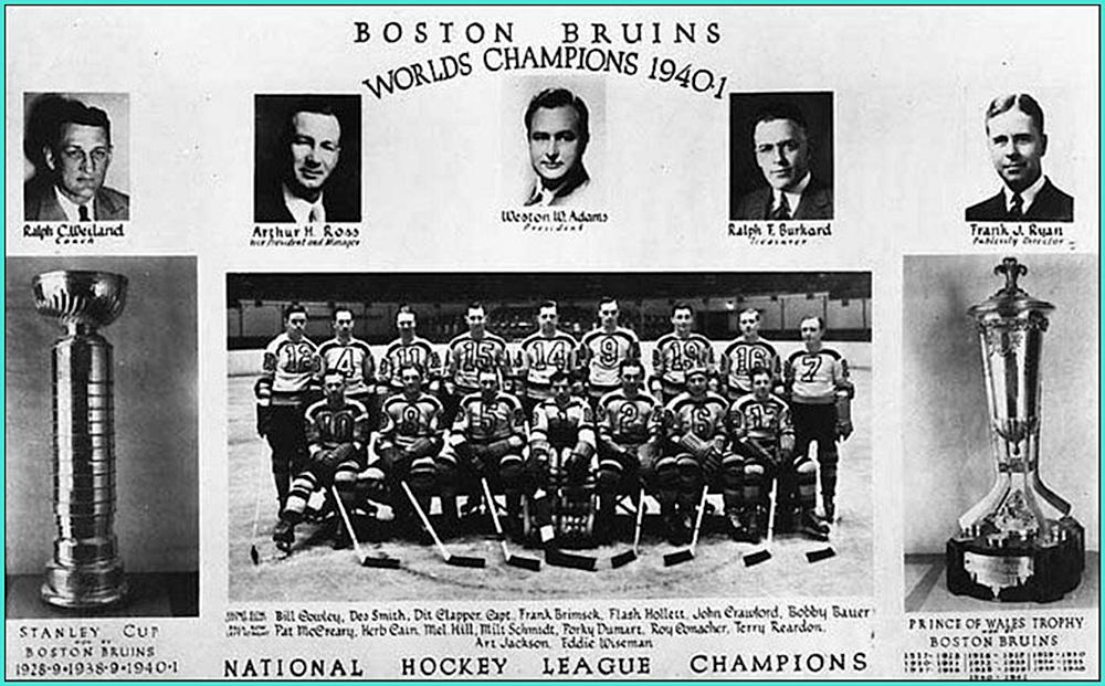 1941г.  Обладатели Кубка Стэнли 1941 года -   Бостон Брюинз..jpg