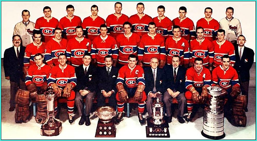 1959г.   Обладатели Кубка Стэнли 1959 года —   Монреаль Канадиенс..jpg