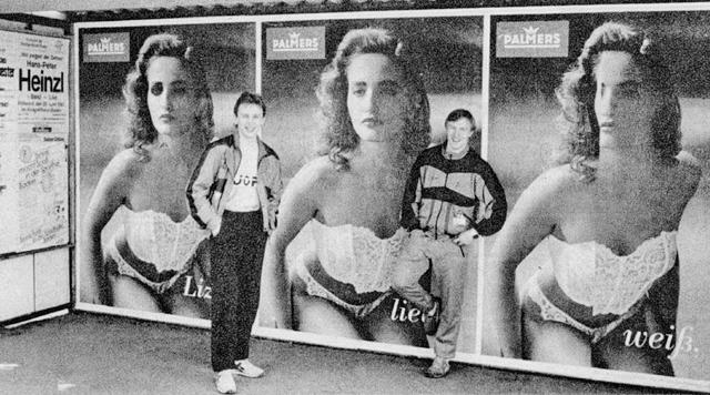 1983г.  Игорь  Ларионов  и  Михаил  Васильев  на  прогулке  по  Мюнхену..jpg