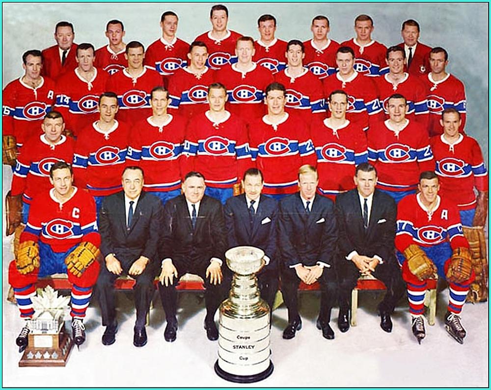 1965г.   Обладатели Кубка Стэнли 1965 года –   Монреаль Канадиенс..jpg