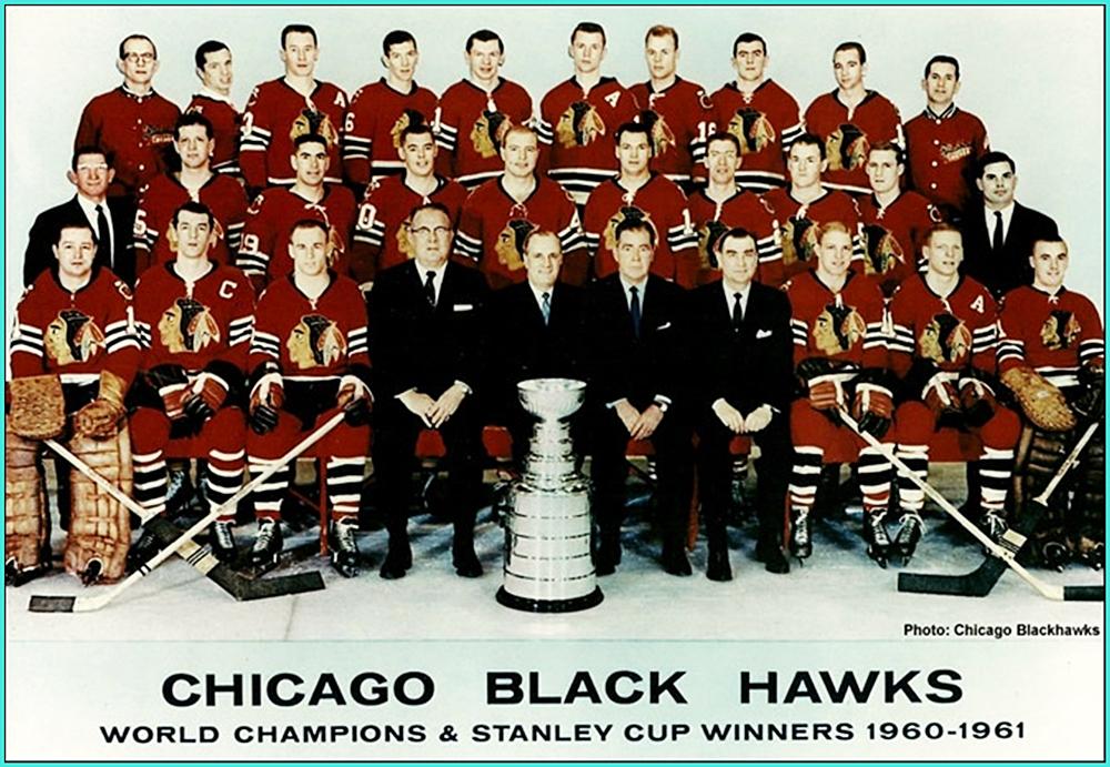 1961г.   Обладатели Кубка Стэнли 1961 года –   Чикаго Блэкхоукс..jpg