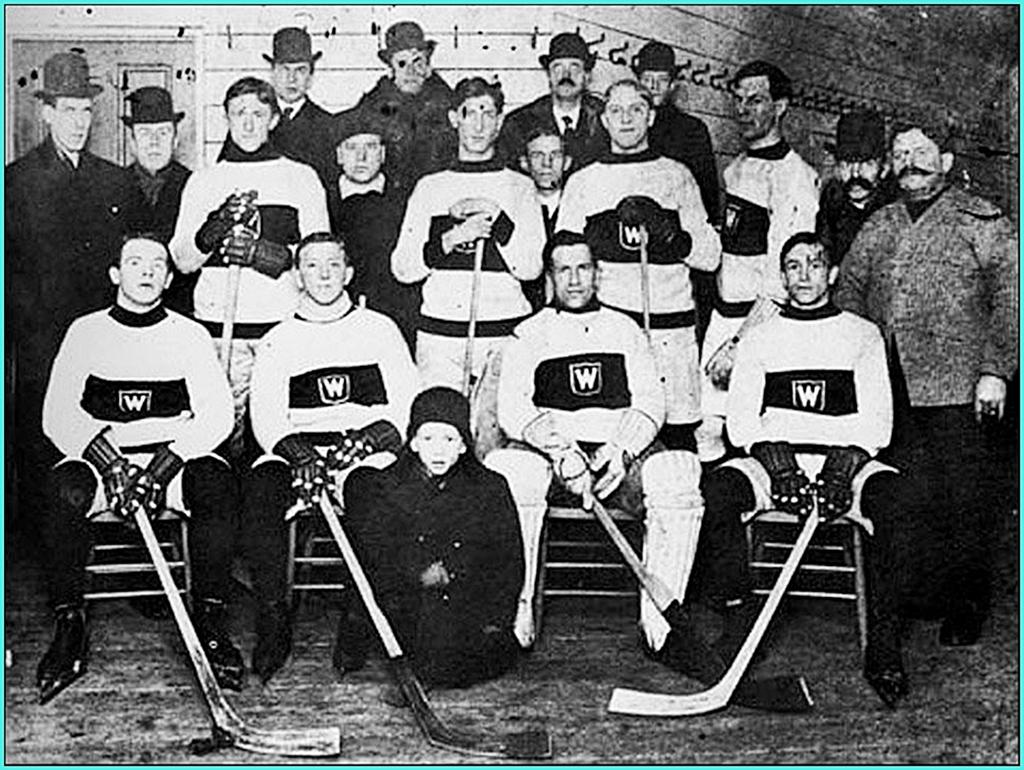 1906г. Обладатели Кубка Стэнли 1906 года -  Монреаль Вандерерс..jpg