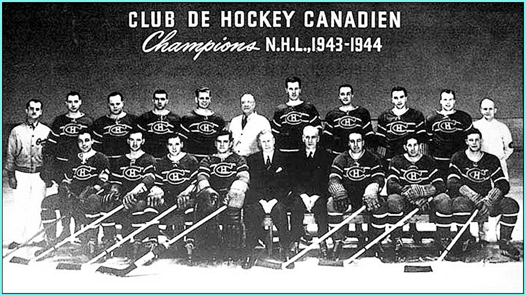 1944г.  Обладатели Кубка Стэнли 1944 года -   Монреаль Канадиенс..jpg