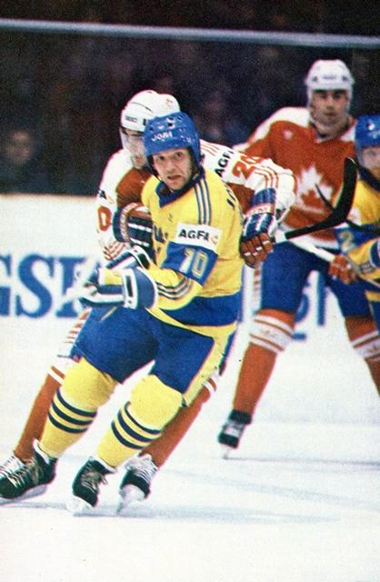 Канада - Швеция.  Кент  Йоханссон..jpg