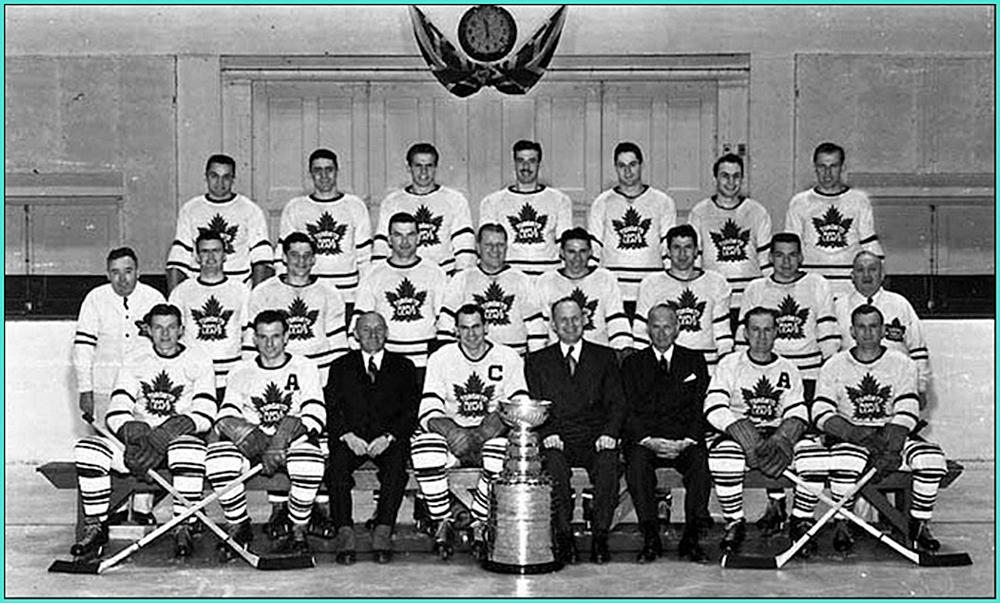 1948г.   Обладатели Кубка Стэнли 1948 года -   Торонто Мейпл Лифз..jpg