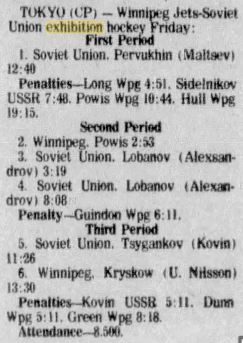 1977 12 31 Leader-Post Sat p16 SUM Winn-USSR Tokyo.png
