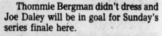 1977 12 30 Winnipeg Tribune p25 Bergman injured.jpg