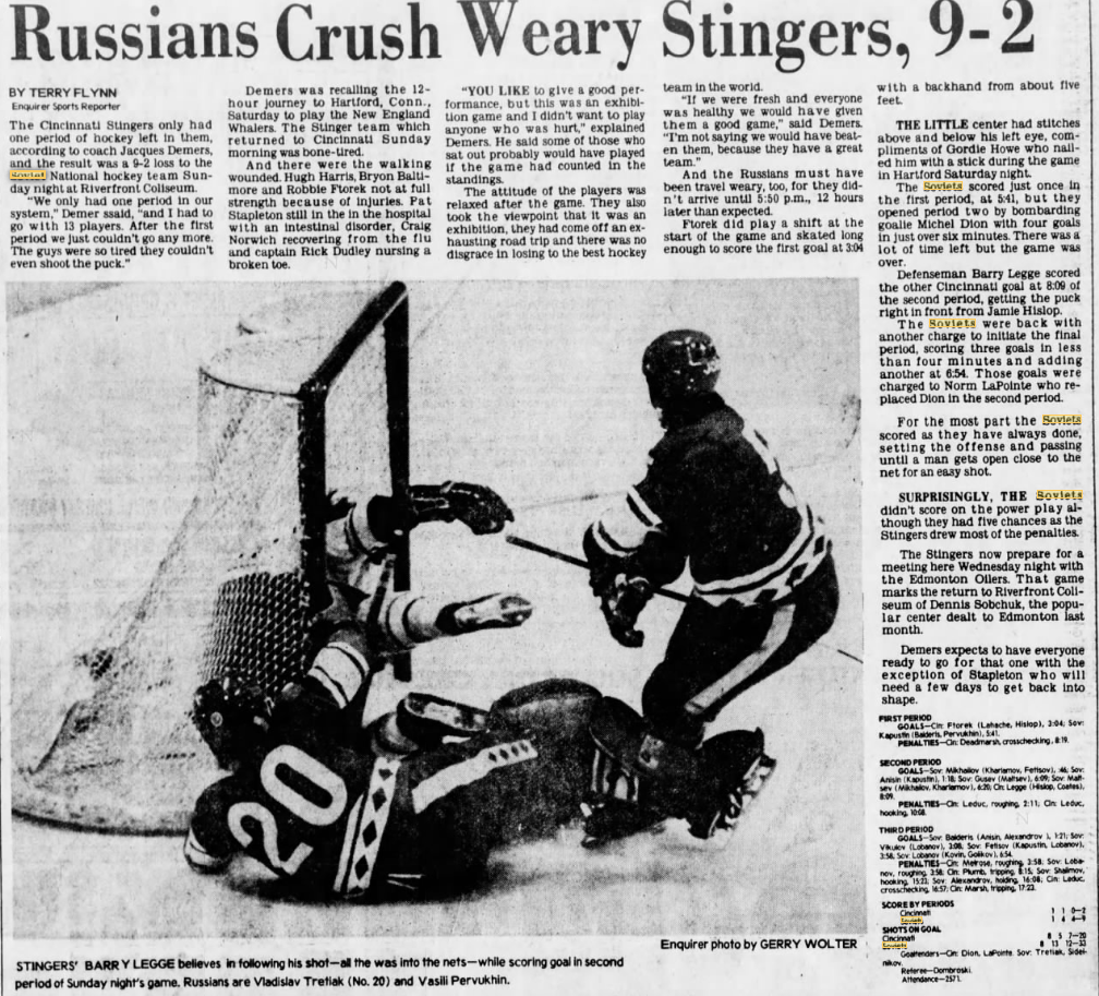 1978 01 09 Cincinnati Enquirer Mon pC-1 p23 Cinc-USSR.png
