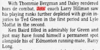 1978 01 03 Winnipeg Tribune p41 Bergman injured.jpg