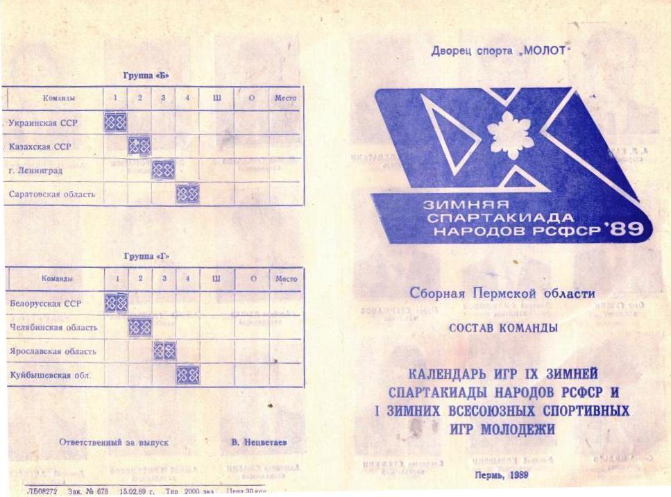 Спартакиада 1989. Саратов. Ленинград. Ярославль, куйбышев.jpg