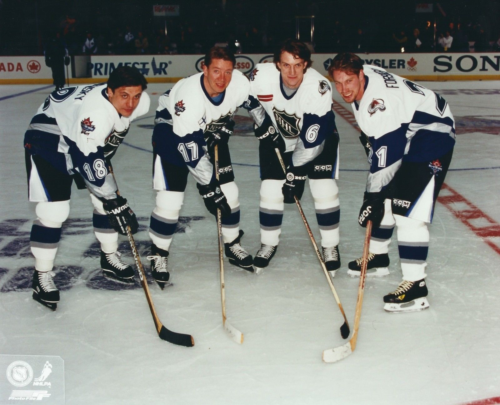 1998 Colorado Avalanche NHL All Star Game.JPG